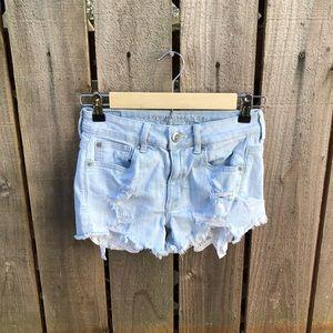 American Eagle Light Blue Women's Shorts